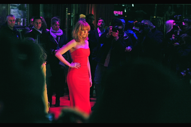 Photographically, everybody has a best side. Kelly Reilly also has a best elbow.