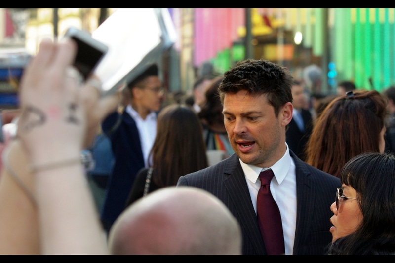 """ Hey, is that UHURA and MCCOY fanfiction? I love it.. I'll take one"" . Karl Urban IS the great Dr McCoy."