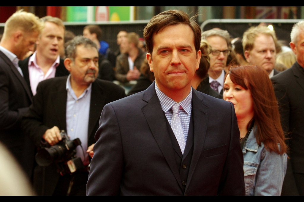 Ed Helms. Still owes me five dollars.