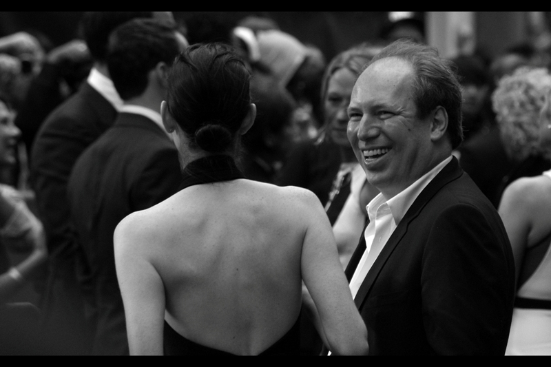 Hans Zimmer did end up signing my Moleskine journal (Woohoo!!) and after that met with a fan (?). Good for him. He's won an Oscar and been nominated for another SEVEN. Cruelly, The Dark Knight Rises was snubbed by the academy, not even earning a nomination (subsequently found out that the 'fan' is his daughter, Zoe)