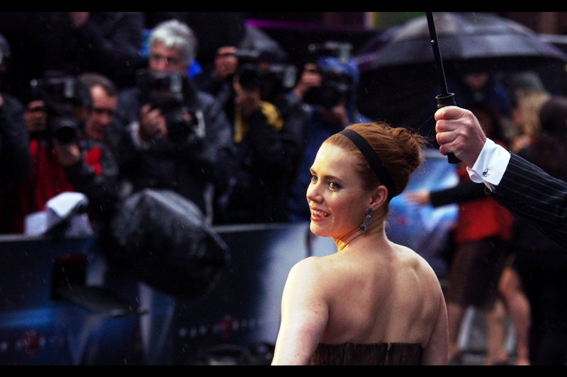 Amy Adams is Lois Lane in the film - and she's been nominated for no less than FOUR Oscars in her career as an actress. I didn't know that until now.
