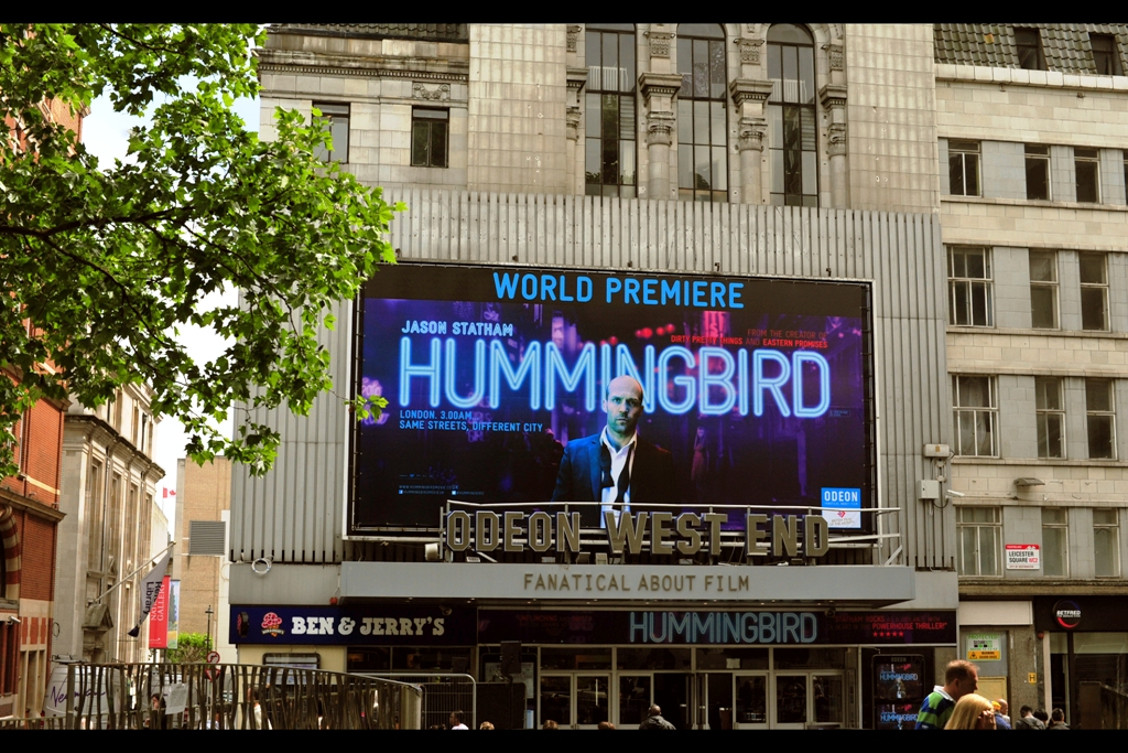 "The movie ""Hummingbird"" also had alternative / working titles of ""Redemption"" and ""Crazy Joe"". As long as Statham's got a half-done-up bowtie on the movie poster, though, surely the title is mostly irrelevant?"