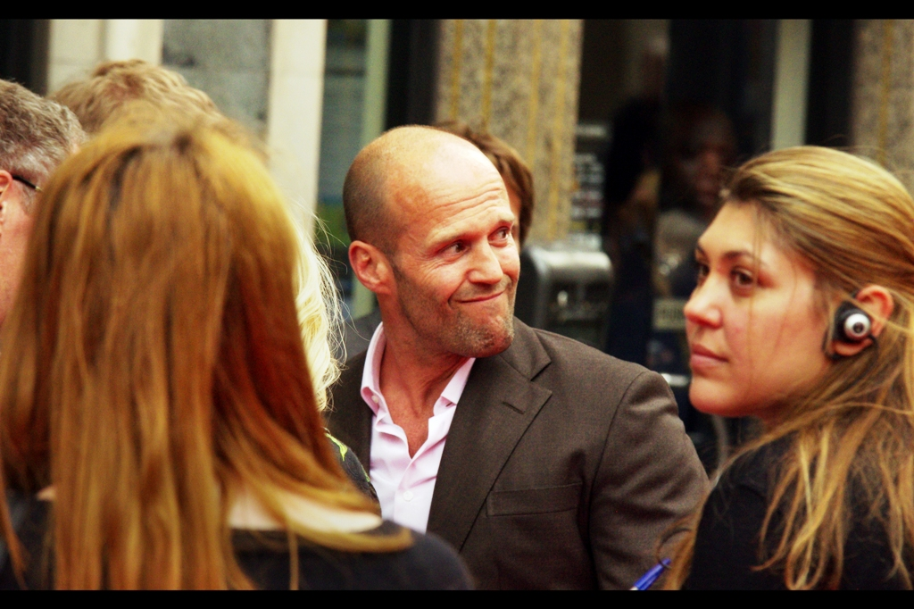 Jason Statham? Rarely zany, but perhaps occasionally.