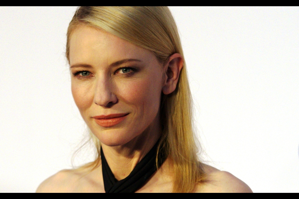 And one more shot of Cate Blanchett. I can see why the Paparazzi get such good photos under such controlled circumstances. I can't say I prefer this kind of photography to candids at premieres, but I can't argue with the capacity to get a much higher quality than average. And to be fair, you don't even need a good camera to take a photo like this at this kind of distance under this kind of lighting. Dual Pro-Nikons and speedlights might seem like overkill. No offence intended, pro photographers.