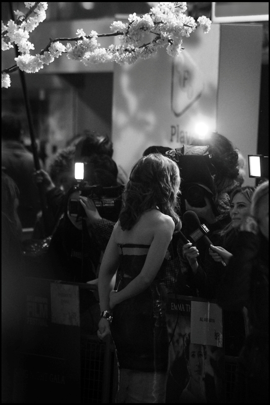 "I've failed to photograph Ruth Wilson properly at almost every premiere she's been to, including  Friday's premiere of ""Locke""  and all but one photo at  ""The Lone Ranger"" premiere . Still... ambience."