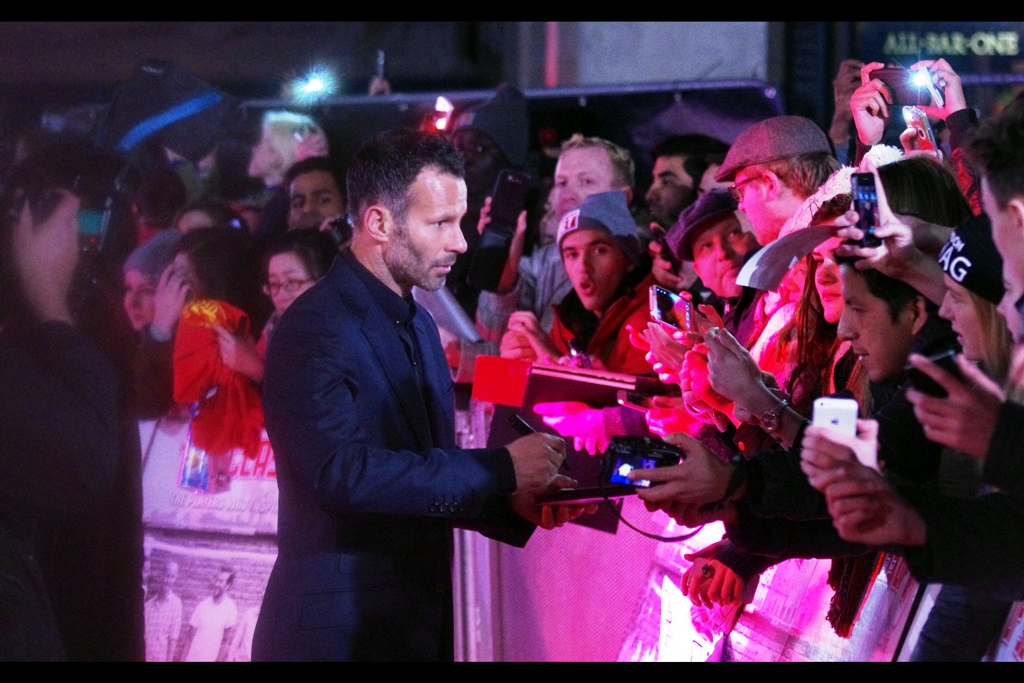 """ You realise I'm not medically trained to be able to sign that declaration you're putting in front of me? Oh, you don't care. Well that makes all the difference""  Ryan Giggs isn't sure."