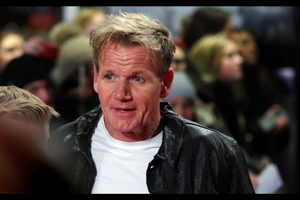 To the best of my limited football knowledge, this is Gordon Ramsay. Who is a chef.