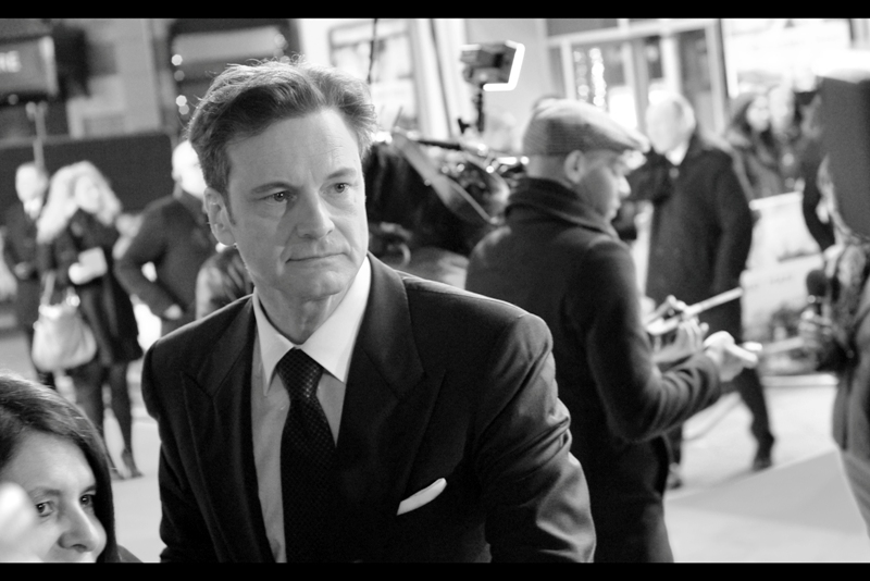 Colin Firth gets within just a few meters, and stares enigmatically into the middle distance, pondering imponderables. Because if a machine can learn the value of a human life, maybe we can too?
