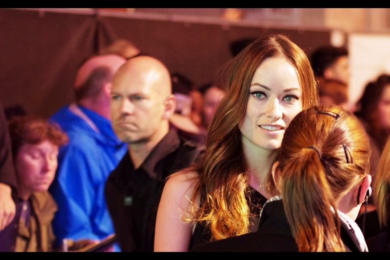 Olivia Wilde has a choice of older bald/balding guys to smile at, and chooses me. Life, for want of a better word right now, is good. Her boyfriend Jason Sudeikis is in this movie, but his mane of hair is awesome and lustrous so you know it'll never last between them.