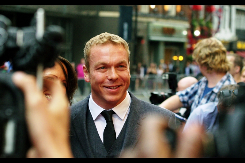 Sir Chris Hoy is well known for winning six Olympic gold medals across 3 Olympics, including the most recent one in London.