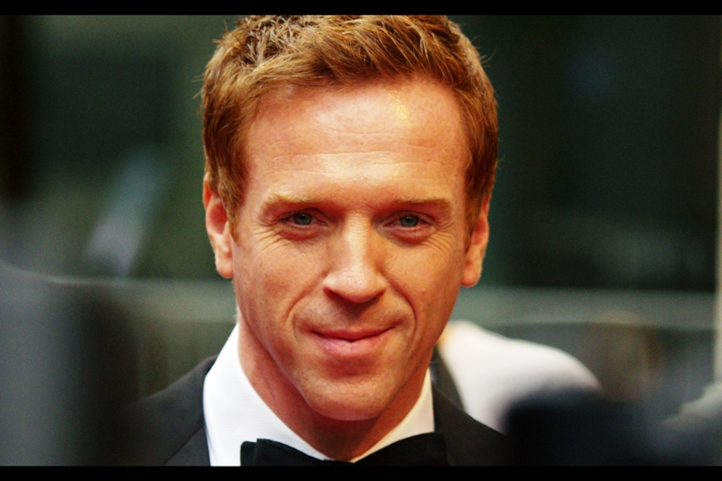 "Damian Lewis won the GQ Award for ""TV Personality"". He was in Band of Brothers, among other things. I don't usually go for close-crops like this, but he strayed too close!"