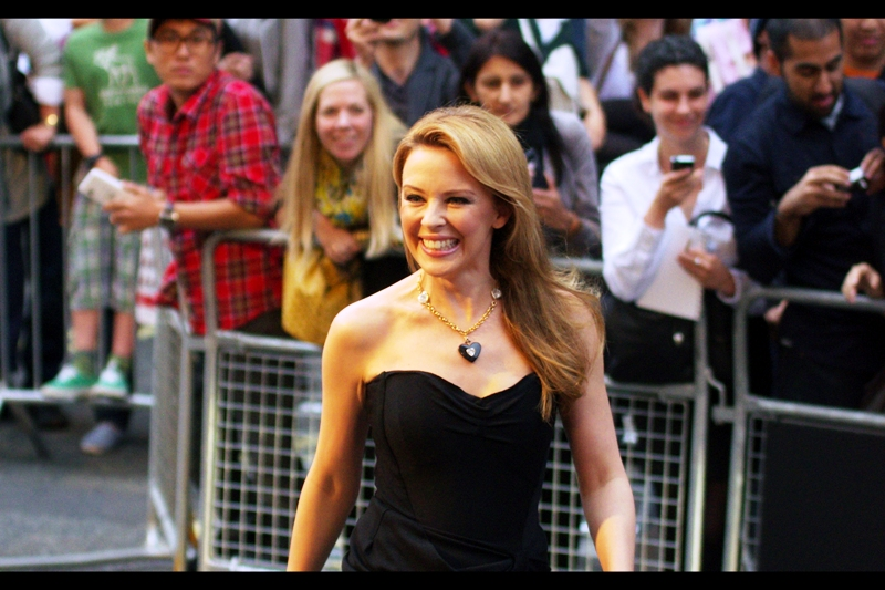 Highlight : Kylie Minogue! Known for : Music, appearance in the original Street Fighter movie (?). She was at last year's awards but I didn't get a good shot. I now have one. Everything was almost looking pretty good... until...