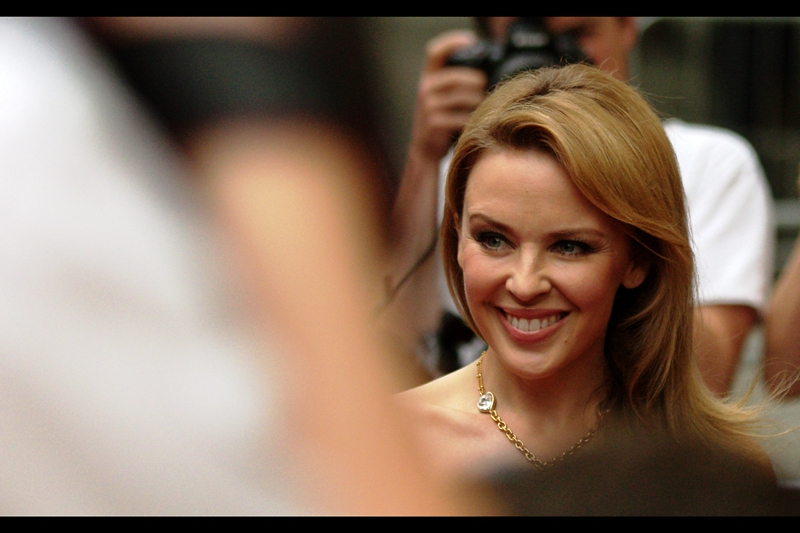 I might just console myself with another photo of Kylie Minogue