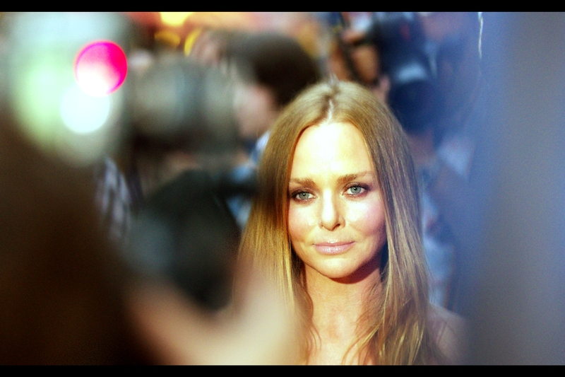 Stella McCartney! Known for : fashion, and (I'm guessing) racausly outrageous and carefree laughter?