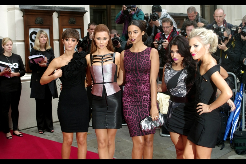 Attendees 2 : The Saturdays. They've had some half-decent songs (and there's not a single male among their goup - all good)