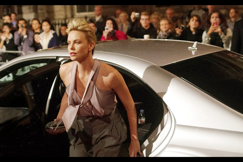 Charlize Theron!! On a broader note : she's still unmarried, and *_I'm_* still unmarried! (And if you remove all the guys who are married, and don't speak at least one of (a) English (b) Afrikaans on the planet, that means  we're not even talking about it being a 'what if we were the last two people on Earth' type hypothetical situation!!