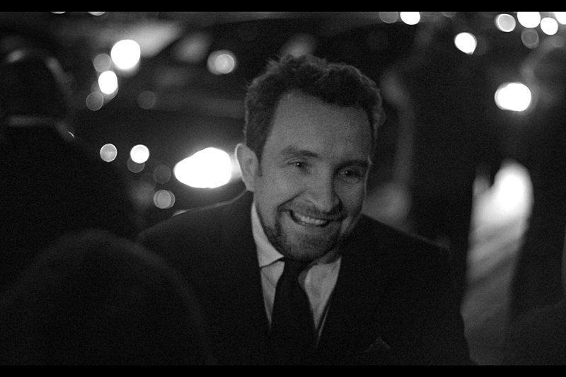 I dial the grain up even further as passing street traffic gets more sparse, and capture Eddie Marsan, arguably best known for being in Guy Ritchie's 'Sherlock Holmes' films.