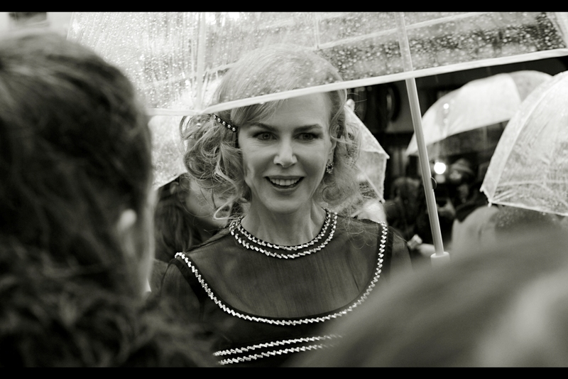 """I'm on your iPod? That's pretty cool!! Although... iPods are mostly obsolete these days, so it's not quite as cool"".  Nicole Kidman is featured on the Moulin Rouge Soundtrack... plus she dueted with Robbie Willams on 'Somethin' Stupid' back in 2001"