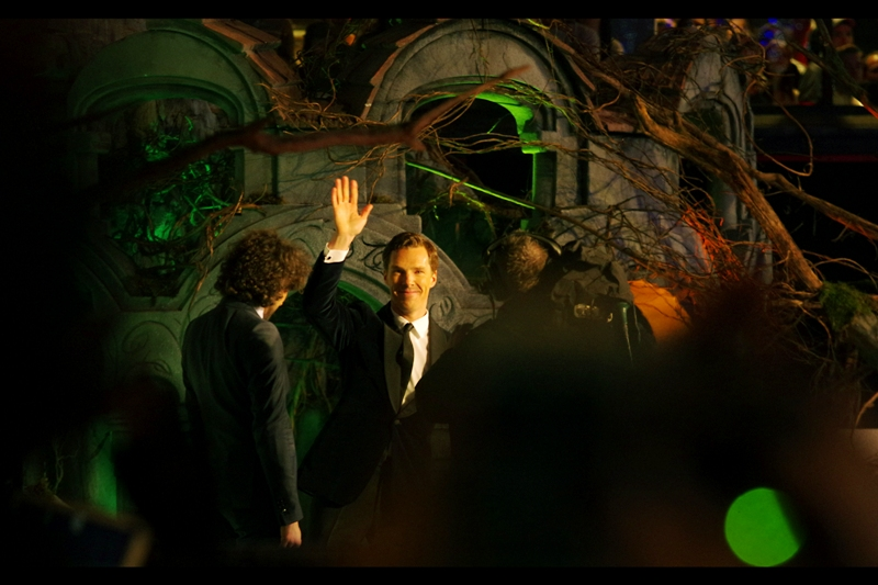 Air-High-Five with Benedict Cumberbatch!