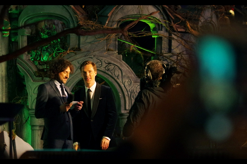 "Alex  :""The ladiez... they don't scream that much for me, Benedict. Where am I going wrong?"""