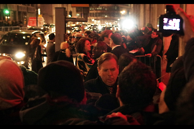 I really like Timothy Spall (best known as 'Wormtail' in the Harry Potter films, but he's a great actor in many roles) - I'm doubly glad, because I missed the BFI Film Festival premiere of 'Turner', which he stars in.