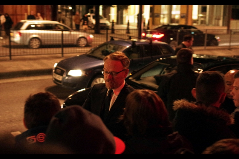"""""""What do you mean """"OTHER MORIARTY""""? . In contrast to Andrew Scott, Jared Harris is Moriarty in the Guy Ritchie Sherlock Holmes films. Also, I'm almost certain I've taken pretty much exactly this photo of Jared Harris at a previous BIFA... either at  BIFA 2011  or  BIFA 2012"""