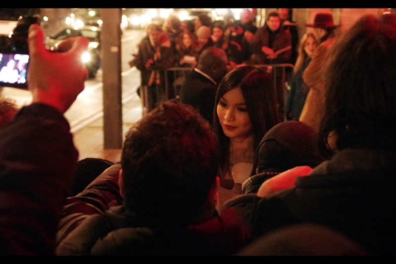 I believe this is Gemma Chan, who was most recently in  Jack Ryan Shadow Recruit ? (usually, the autograph dealers in front of me wave giant posters of movies... I'm rather lost when they don't)
