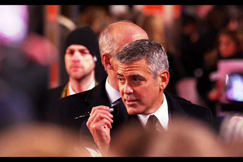 """I'm going to keep this pen and sell it on ebay as ""George Clooney touched this"". Is that okay?"""