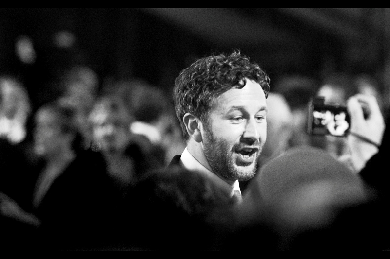 Hey, it's… that guy! (He was one of the nominees for the Bafta Rising Star award, if my memory of the ceremony serves. I was home photoediting throughout much of it) (Chris O'Dowd from Bridesmaids, I've since been told)