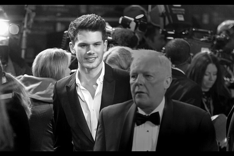 "Jeremy Irvine, lead performer in  the Spielberg film ""War Horse""  (well… not counting the horse.)"