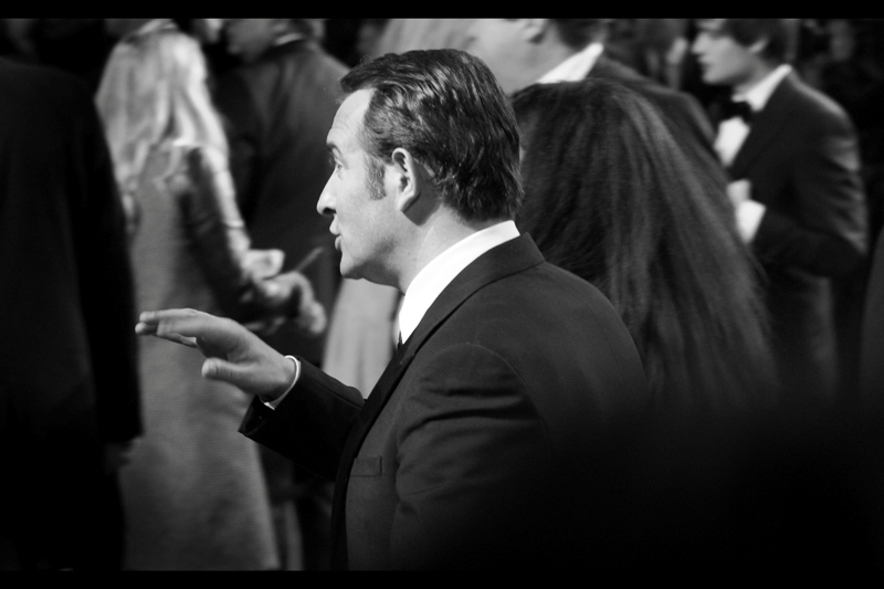 Tragically, this was my only shot of Jean Dujardin, who won Best Actor for 'The Artist'. The only thing I can say in my defence is that he was in a silent film – he didn't make a lot of noise as he walked past.