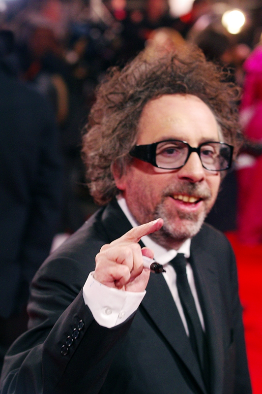 """And yet, see how MY finger confuses your autofocus and makes me all blurry?""  Yeah, thanks for pointing it out, Tim Burton!"