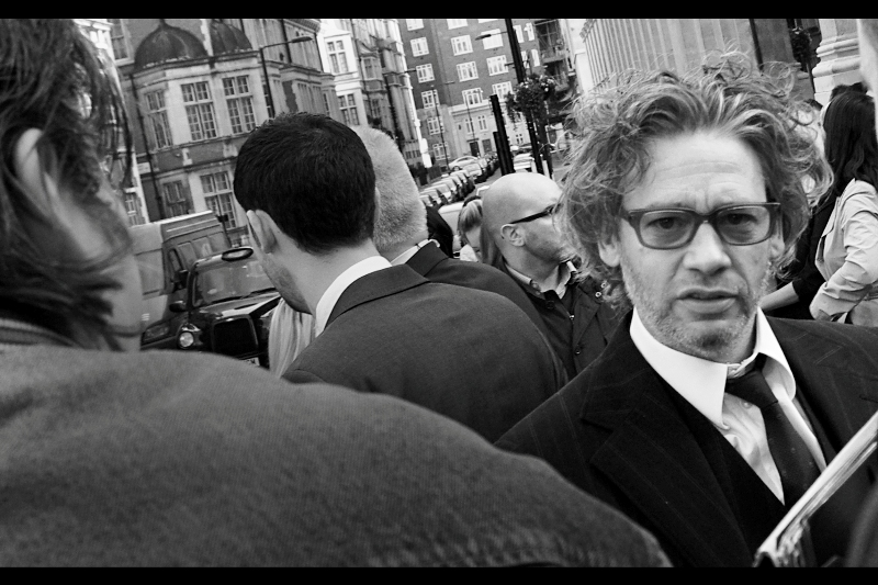 """Dexter Fletcher has been to a lot of premieres, but last week he bucked the trend by attending a premiere for a movie he was actually involved in – his directorial debut  """"Wild Bill"""""""