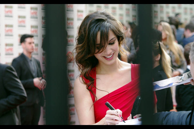 Bérénice Marlohe has been in many French-language films, but the reason the Autograph Dealers were falling over themselves to get her autograph had mainly to do with her being in the next James Bond movie.