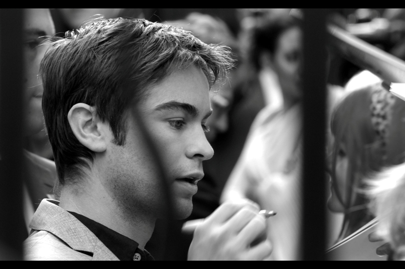 """Chace Crawford is so hot right now. Chace Crawford.  (Again, I've been """"reliably informed"""" that he's in a TV show called """"Goss-ip Girl"""" – I hope I spelled that correctly…)"""