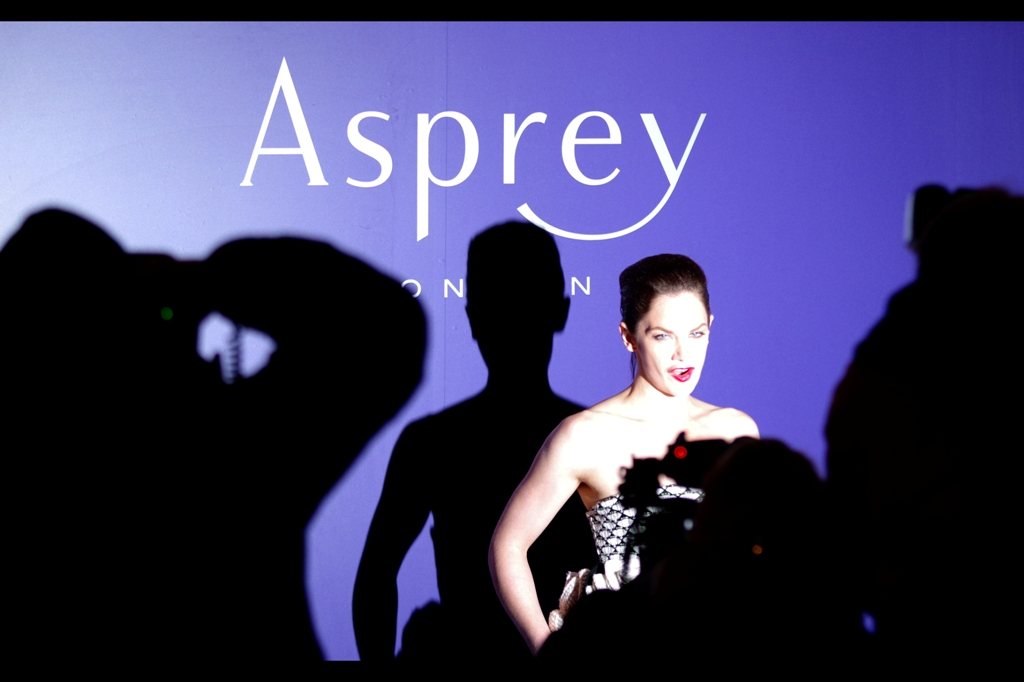 I've been spending far too much time at London Fashion week, so this overexposed shot of Ruth Wilson last night's Asprey pre-BAFTA party might be acceptable as a high-key fashion/art (desperation) thing.