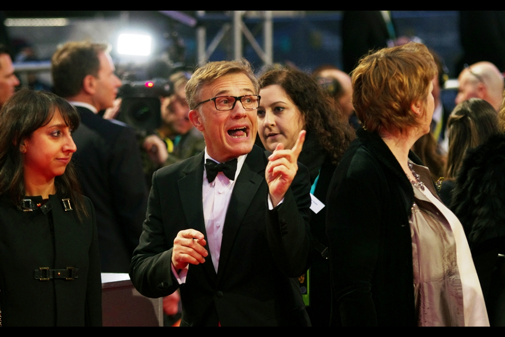 "Christoph Waltz won Dual Best supporting Oscars and BAFTAs for the Tarantino films  Inglourious Basterds  and  Django Unchained  . He promised he'd be back to sign in our area but he never did. To be fair, that's why they call it ""Acting""."