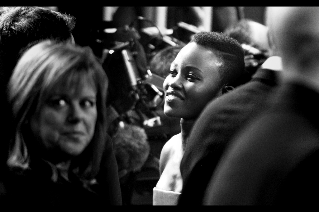 "Lupita Nyong'o was magnificent in ""12 Years A Slave"" – award or no, her performance was amazing. (I don't really have anything amusing to say about that – but then I didn't have anything amusing to say about ANYTHING for hours after watching that movie)"