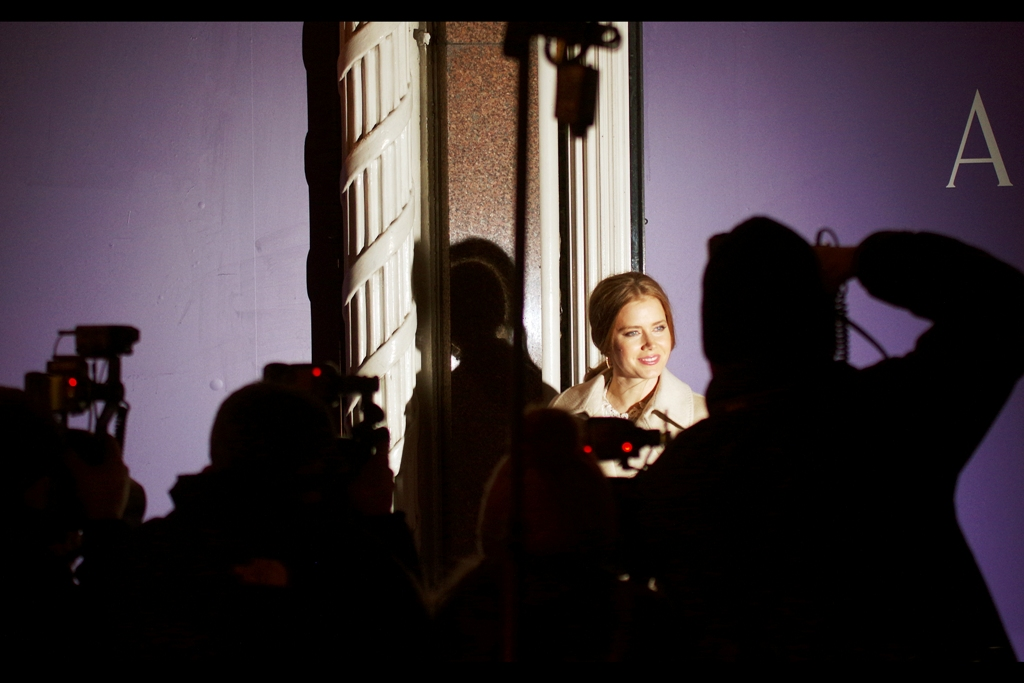 Amy Adams was also at yesterday's Asprey Party, where like all photographers not in the 'pro' section, I needed a combination of stepstool, lack of passing traffic, luck, and voodoo (and also 'not an iphone') along with the flashes of paparazzi across the road from me.