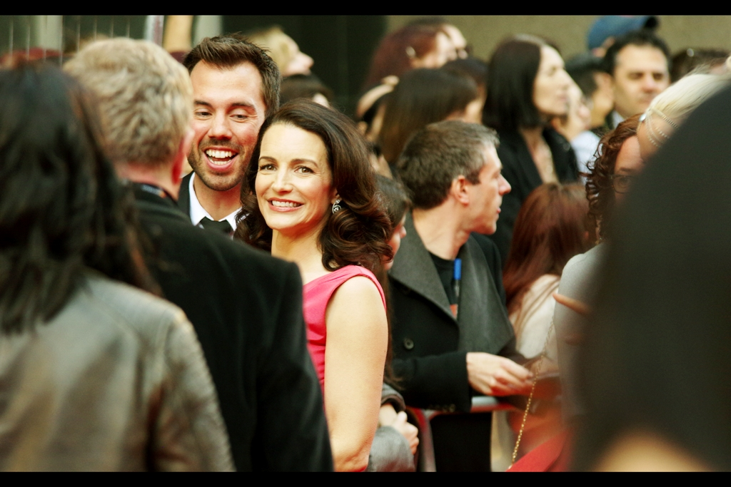 I know this person! It's Kristin Davis! And while I might be able to score some decades-too-late Metrosexual points by claiming I've seen any Sex and the City shows or movies or prequels, I have not. I swear it.