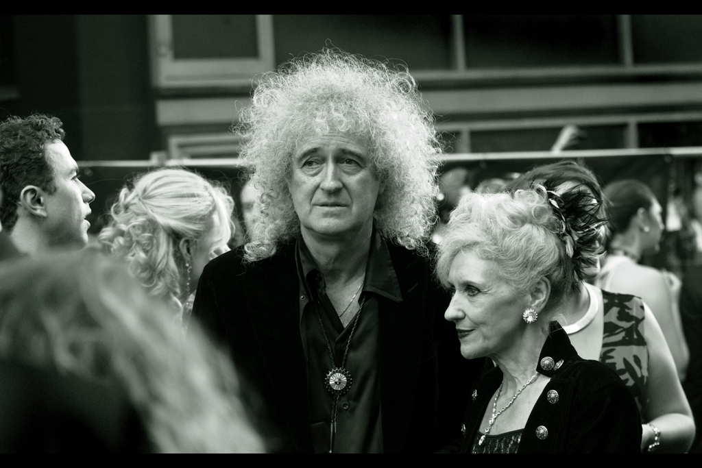 Brian May, meanwhile, was in the band Queen. His hair is even more famous, and is currently foreign minister for a tiny Caribbean nation.
