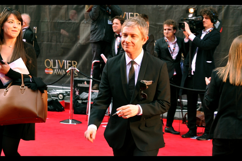 I'm starting to hit my stride here, as the event goes on and some of the larger names end up being big in the worlds of both theatre and movies. This is Martin Freeman, who is Bilbo Baggins in the Peter Jackson Hobbit films. He's both simultaneously shorter and much much taller than you'd expect in real life.