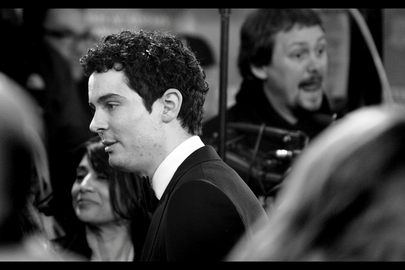 """Boyhood? It's magical. It took them twelve years to make. That said, I directed ""Whiplash"" so forgive me if I prefer my own movie"".  This is Damien Chazelle, and he directed Whiplash"