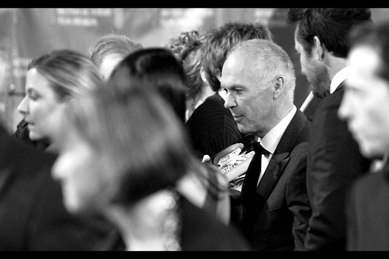 One of only two sharp(ish) photos of Michael Keaton I managed to take. Kudos to the guy with the DVD to his right. Michael Keaton, along with being Batman in two Tim Burton films and being nominated for Best Actor for Birdman, was also the voice of Ken in the Toy Story films.