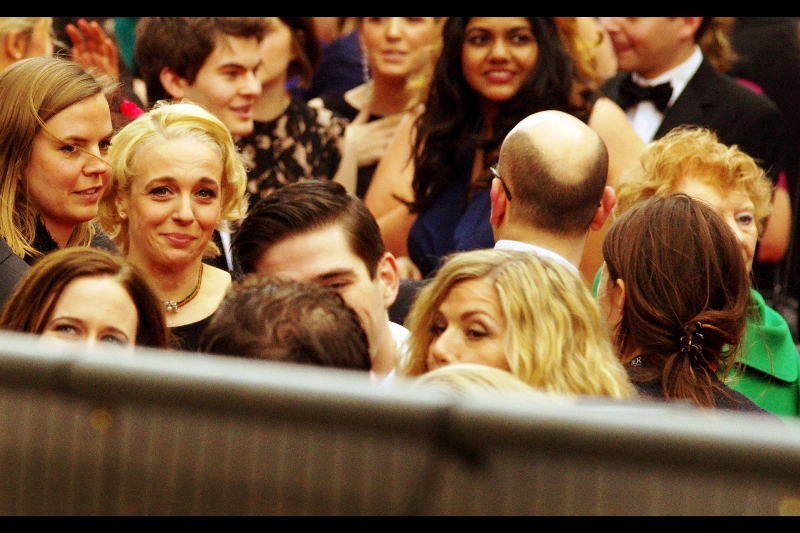 Oh! I think it's somebody I recognise : this may well be Amanda Abbington, who plays Professor Watson's wife Mary in the TV series 'Sherlock'