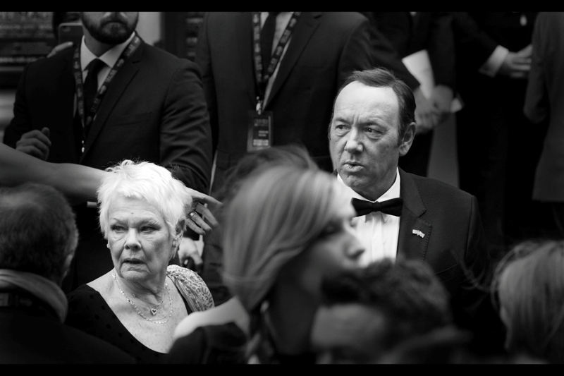 """From a journal of """"who are these people??"""" to """"WOW - I know BOTH of these people"""" - Dame Judi Dench and actor Kevin Spacey have won 3 Oscars, 3 Golden Globes and (vaguely) 6 film Baftas between them. But no Olivier Awards, which to my fatigued reasons makes them both as respected as I am in the world of Theatre (...no?)"""