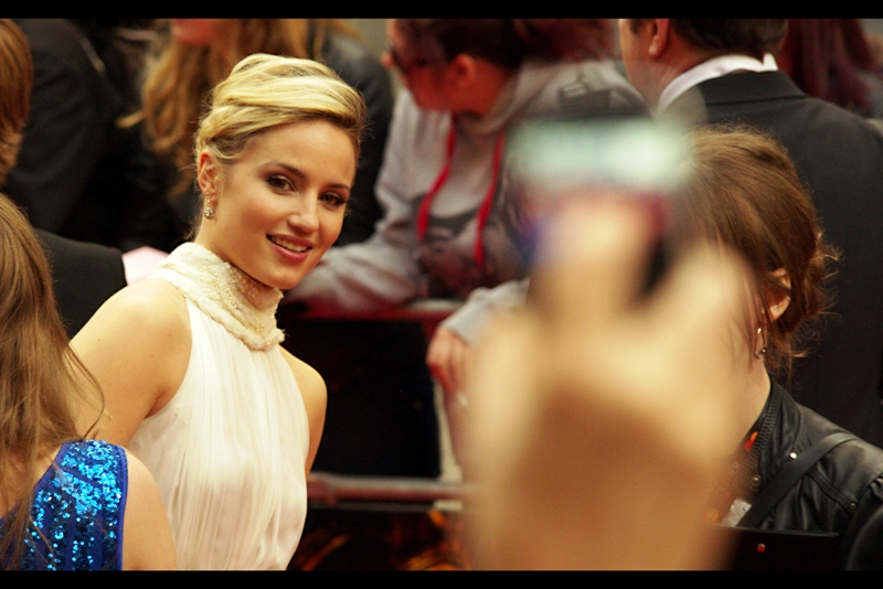 """""""Hey, baby...!"""" . Don't call me baby. Oh. Wait. You were objectifying me, and not the other way around. Please continue. Actress and presenter Dianna Agron is (for want of a better, and socially acceptable adjective) American."""
