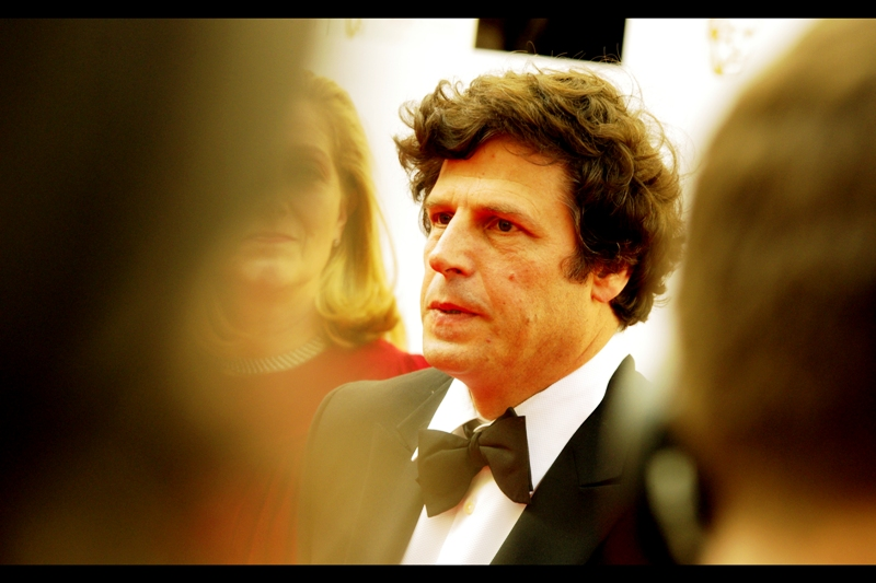 Good news for fans of me humiliating myself with my lack of knowledge of Television Personalities, coupled with vague jealousy of their magnificent hair. I both don't know who this is, and envy his hair.  (edited to add : Stephen Rea? If so, he won the Bafta for best supporting Actor)