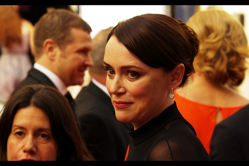 "My 'recognition streak' might still be going if this lady was the person I photographed at the premiere of ""The Man Inside"" all those years ago, and/or was in The Bionic Woman. Or won a Nobel Prize for Economics, just in case I'm allowed to just blatantly guess.  (edited to add : wrong on all counts, she's Keeley Hawes)"