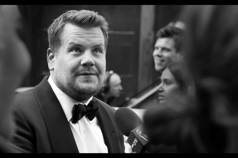 It's James Corden! I'm so excited that I'm calling it FIVE CELEBS in a row at this things that I've recognised! (I feel like this is an accomplishment, but given my life, my job, my morale and what I'm doing at this time of morning.... it's still an accomplishment)